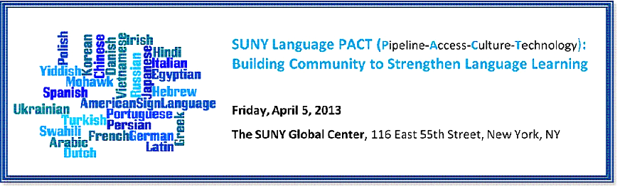 SUNY Language PACT