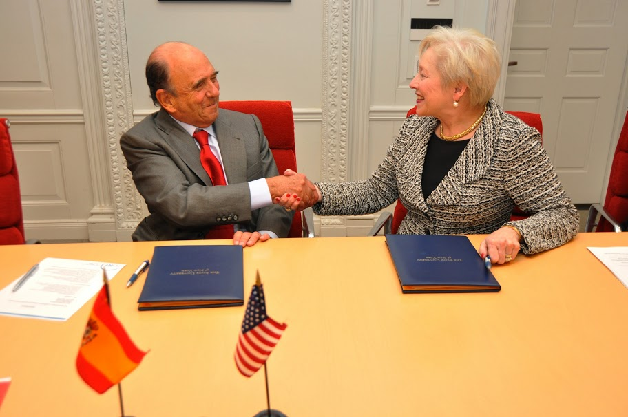 Chancelor Zimpher and Chairman Botin
